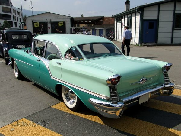 oldsmobile golden rocket super 88 sedan 1957 4