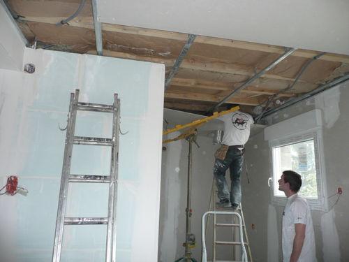 plafond de la cuisine !