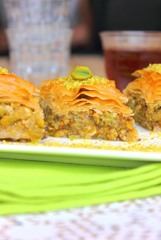 Baklava au pistaches9