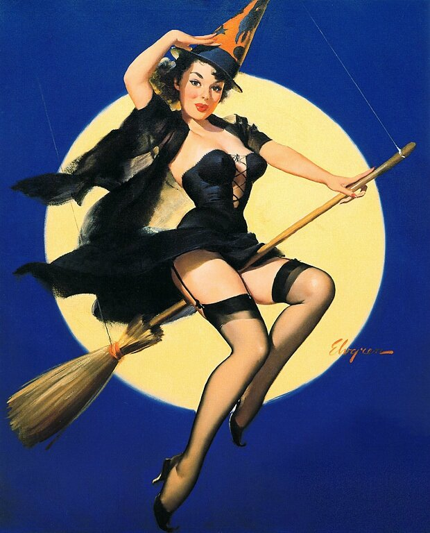halloweenpinupgirlbroom