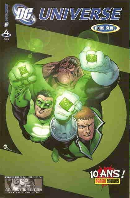 panini dc universe hs 04 green lantern corps