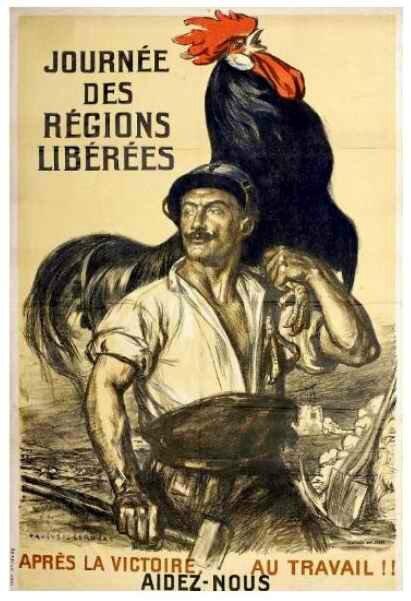 Journée des régions libérées Auguste LEROUX