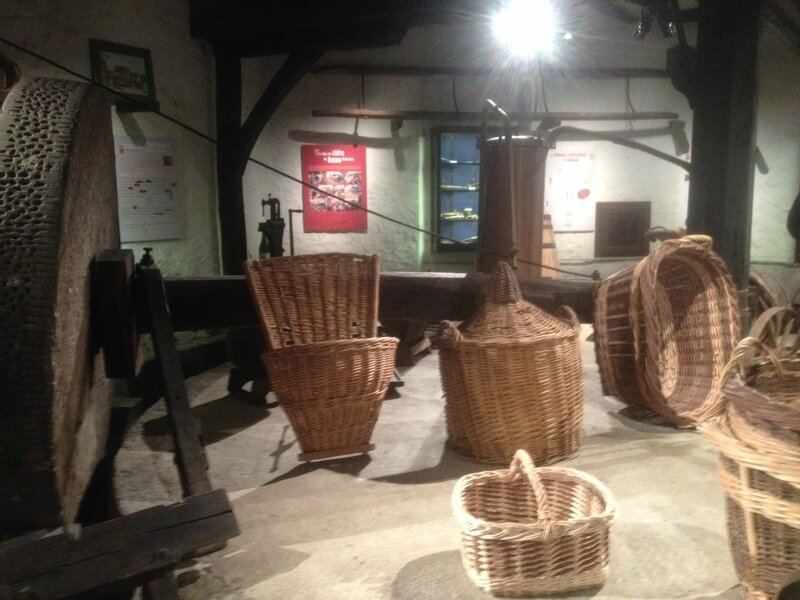musée Pressoir Beton Bazoches L