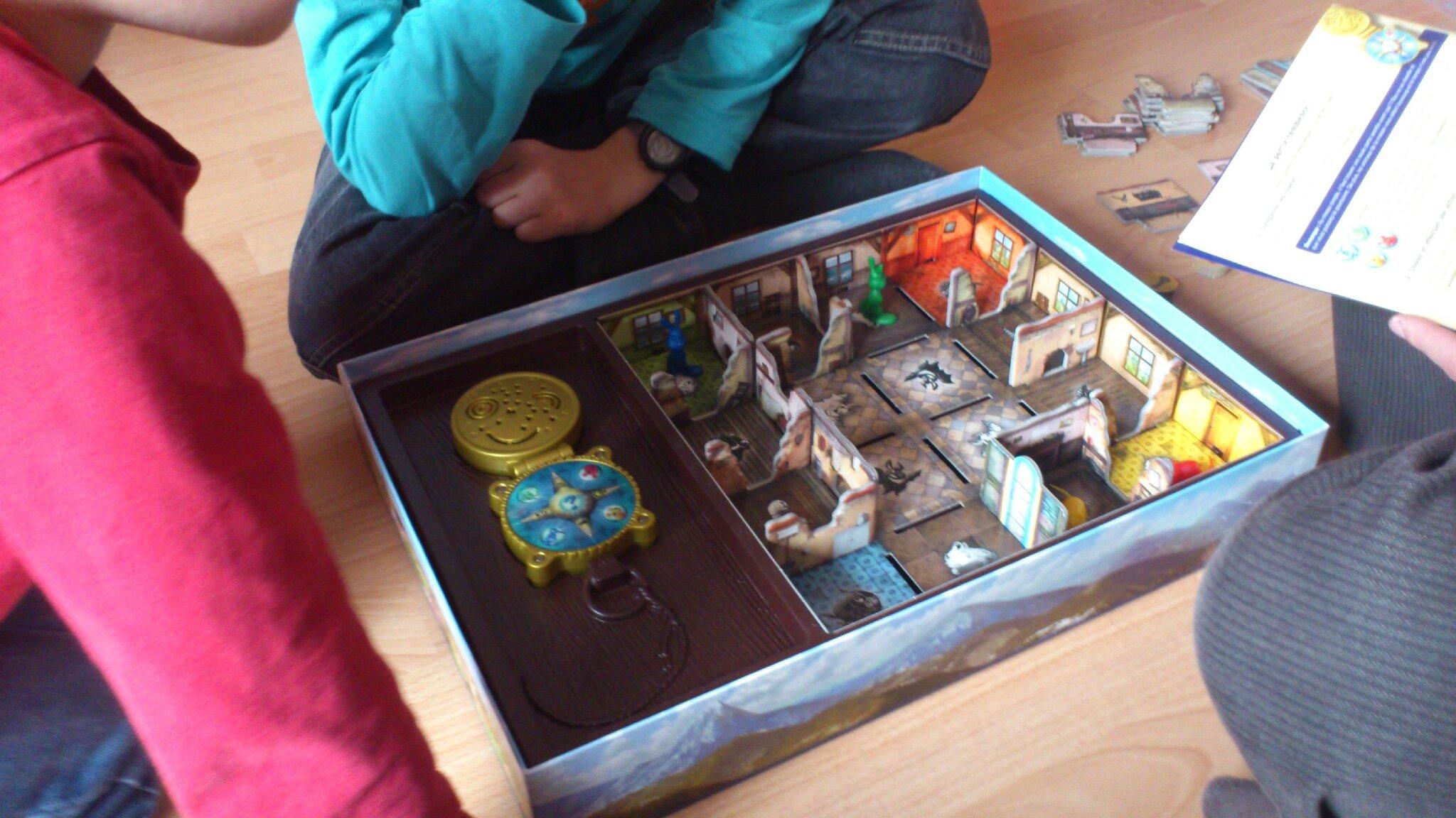 Jeux de société Ravensburger 22221  Attrape Fantôme  La Minuté Bébé