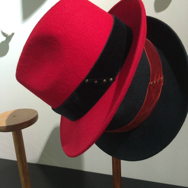 fin septembre 2015 Boutique Avant-Après 29 rue Foch 34000 Montpellier chapeaux laine GI'N'GI made in ITALY TOSCANE (4)