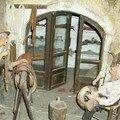 Echoppe du bourrelier ( Ecomusée des Santons)