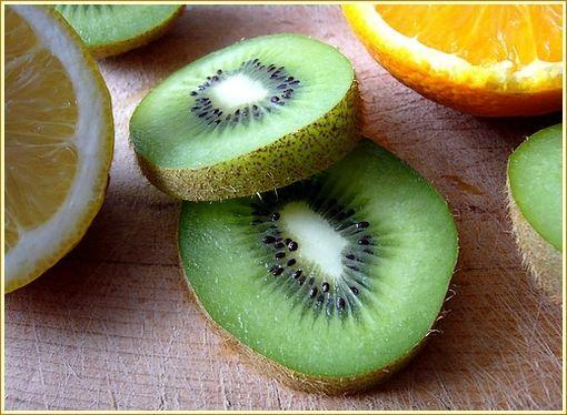 les ingredients du smoothie kiwi