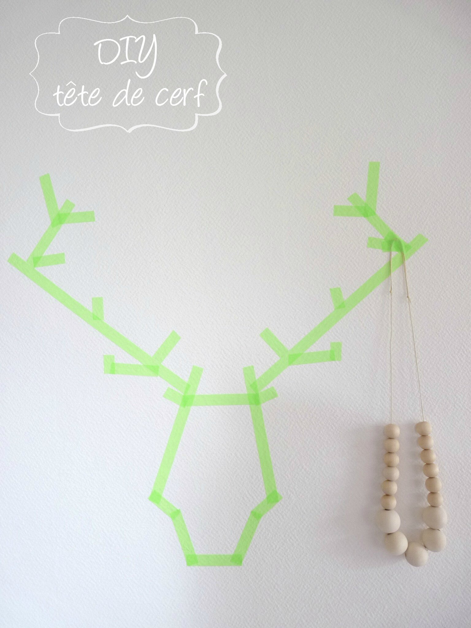un troph e en masking tape pitimana le blog. Black Bedroom Furniture Sets. Home Design Ideas