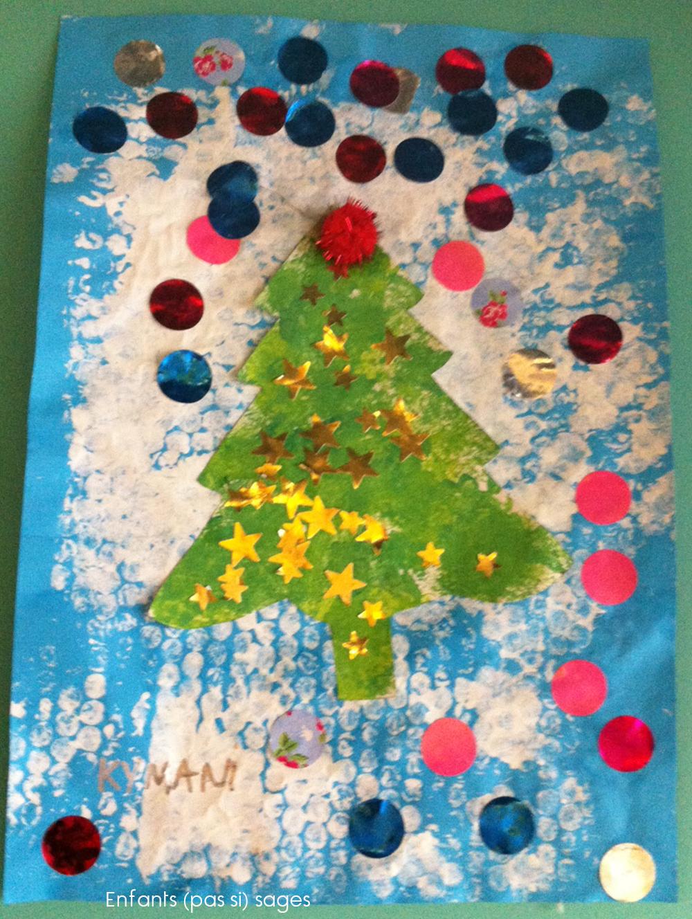 Sapin Noël Maternelle Ecosia