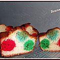 Polka dot cake ou gâteau à pois (5)