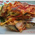 Lasagne de légumes du soleil