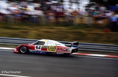 24 - 1985 - Le Mans WM P 85 (WM Peugeot) n°42 3