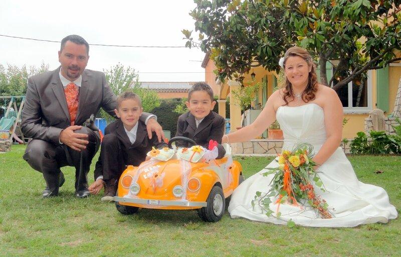 cox mariés enfants
