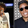Whitney houston a ete en couple avec le frere de michael jackson