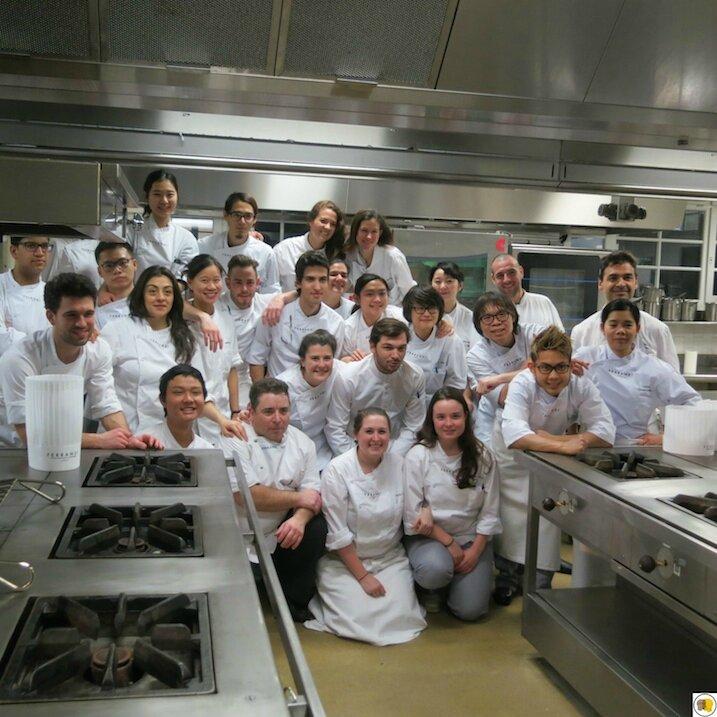 La promotion anglophone de Ferrandi avec les Chefs (3)