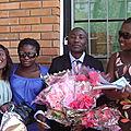 Avec Julie-Esther M. et mes sour Dorcas et Gloria
