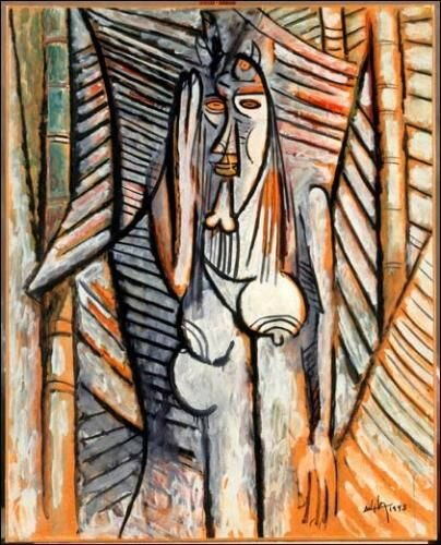 Wifredo Lam, Le bruit, 1943