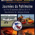 C.a.e.a. - journee du patrimoine - 19 et 20 septembre 2009 de 13h a 17h