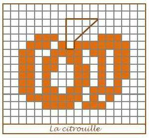 Broderies d'automne - Octobre 2012 - La Citrouille
