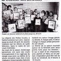 Article Courrier de l'Ouest CréA'telier Ste Gemmes avril 2010