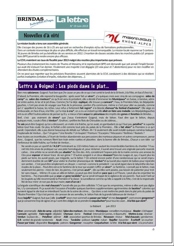 Newsletter 19V
