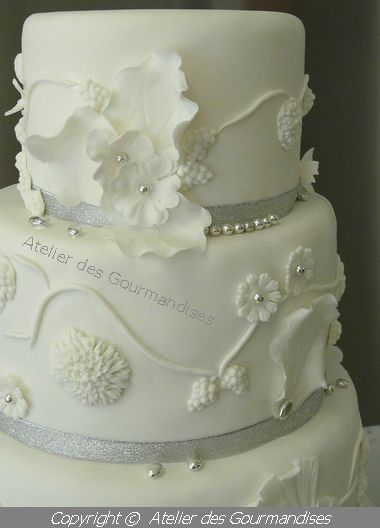 atelier des gourmandises wedding cake Pricilia 4