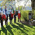 Dimanche 28 avril 2013, journée de souvenir des victimes de la déportation. cérémonies à avranches (50)