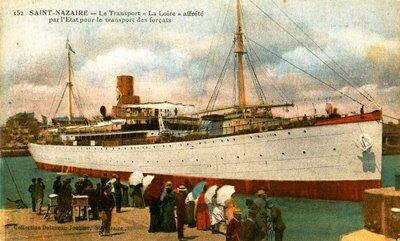 départ bateau saint nazaire