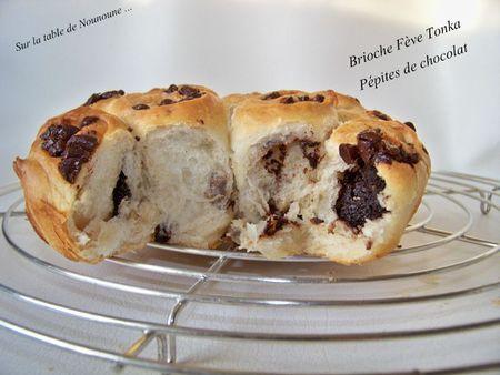Brioche Fève Tonka et pépites de chocolat 3