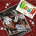 Jolis cadeaux gourmands !! colis parti ! ouufffff !!