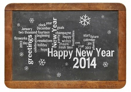 23850277-happy-new-year-2014-word-cloud--white-chalk-text-on-a-vintage-slate-blackboard