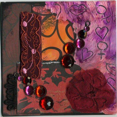 Violette - Féminité (couleurs chaudes)