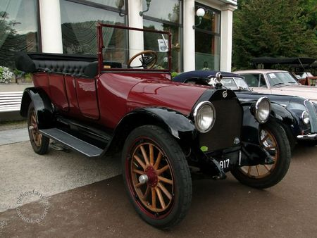 Willys Knight 70a limo 1927 Internationales Oldtimer Meeting Baden Baden 2011 1