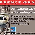 Lyon : conférence gratuite sur l'expertise incendie et explosion