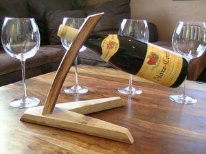 décantation du vin, porte bouteille de table, porte bouteille design en bois,accessoire du vin, www