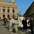 Instantané place de l'Opéra.