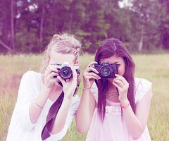 blonde-camera-followmeonweheartit-friend-friends-Favim