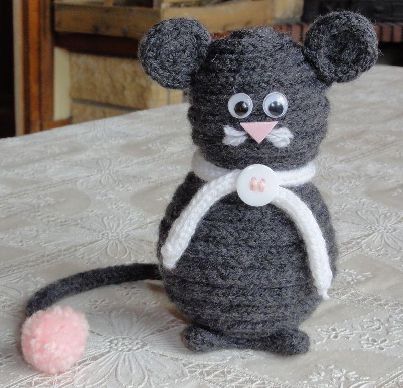 Rat au tricotin