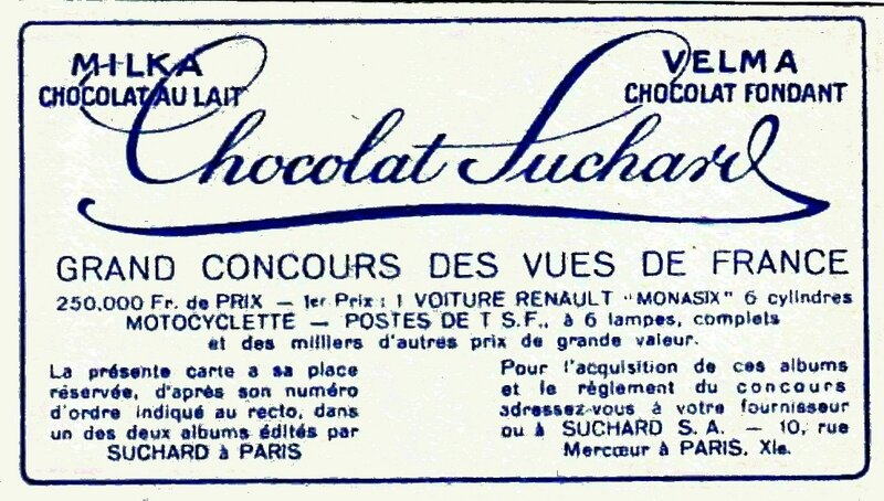 Concours Suchard