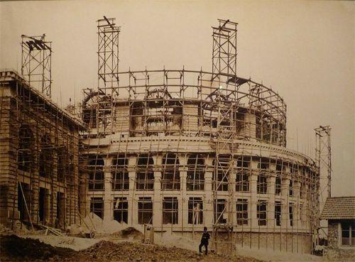 1878 Construction du Trocadéro