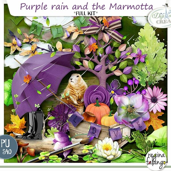 NEW KIT ! PURPLE RAIN AND THE MARMOTTA
