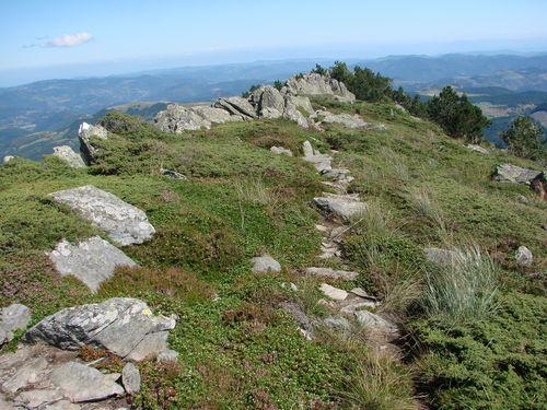 2008 08 21 Le sommet du Mont Mézenc le plus bas (Ardèche)
