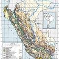 mapa tectónico Perú