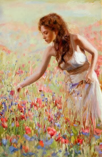Edwin Herde 1951 - American Figurative painter @fineartandyou2