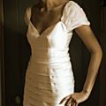 Naissance d'une robe de mariée II