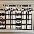 Organisation : les tableaux effaçables chez les bricoles de doudou