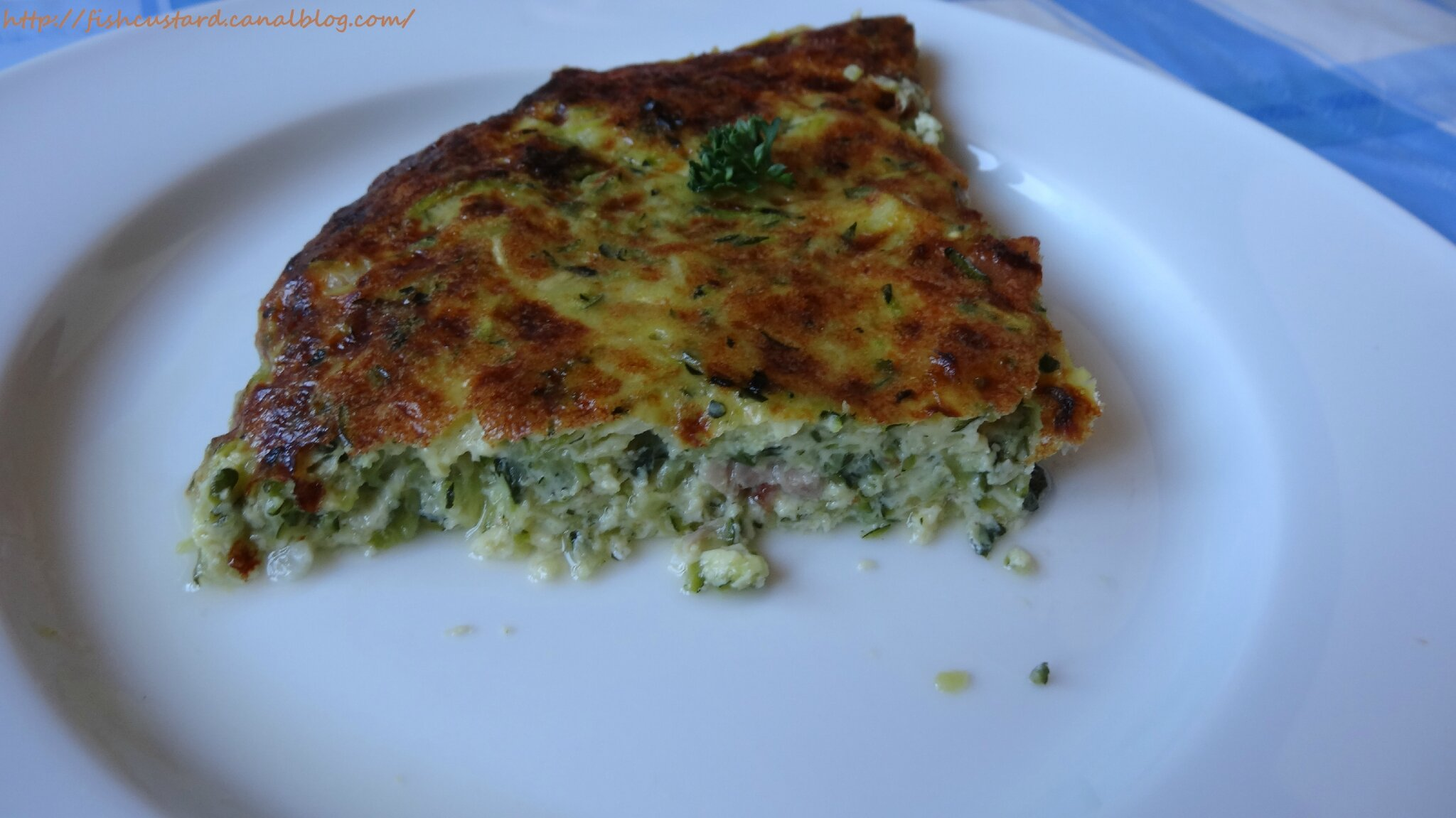 quiche sans p 226 te l 233 g 232 re au poulet courgettes et cancoillotte fish custard