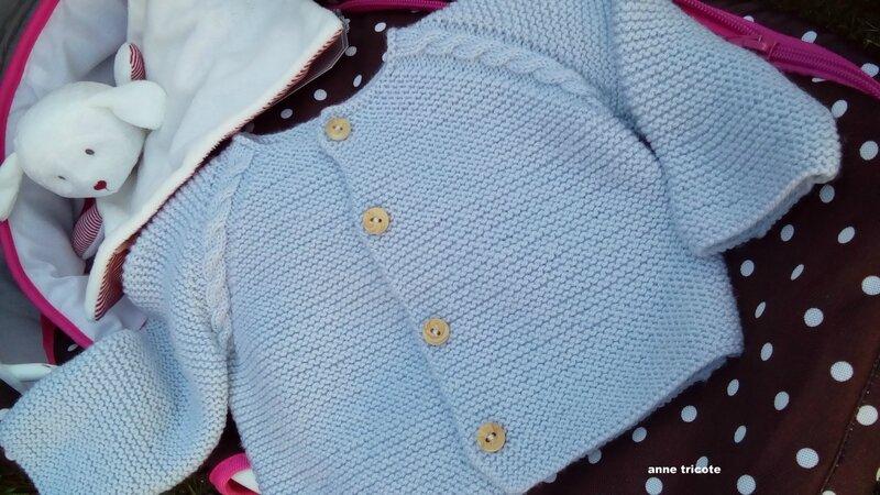 brassière grise en BB mérinos de Fonty passion tricot numéro 5 (3) 1