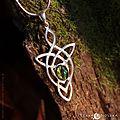 Pendentif elfique et celtique