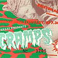 The cramps - mercredi 28 février 1990 - brixton academy (london)